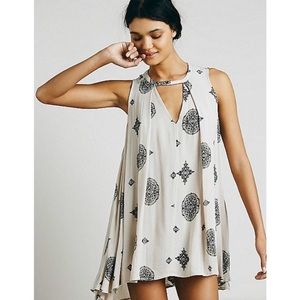 Free People medallion tree swing tunic top/dress